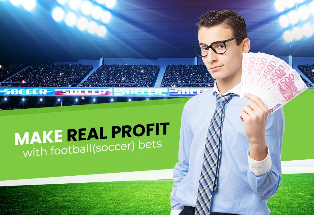 Make real profit with football(soccer) bets
